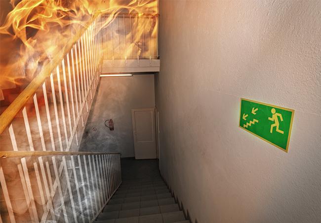 Pożar - nadzór nad obiektem