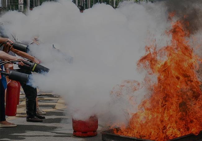 Szkolenie przeciwpożarowe pracowników