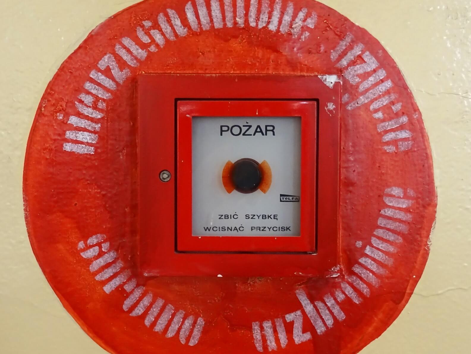 System sygnalizacji pożaru - konserwacja